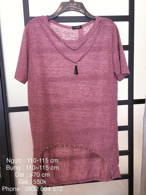 Toàn Quốc - Quần áo BIG SIZE cho người mập, Áo sơ mi nữ form dài, Áo thun Tomboy, Quầ