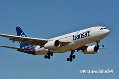 A330: TS334 Air Transat Airbus 330-200 (C-GUFR) from Calgary arriving