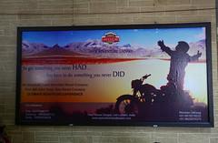 Adventure travel billboard