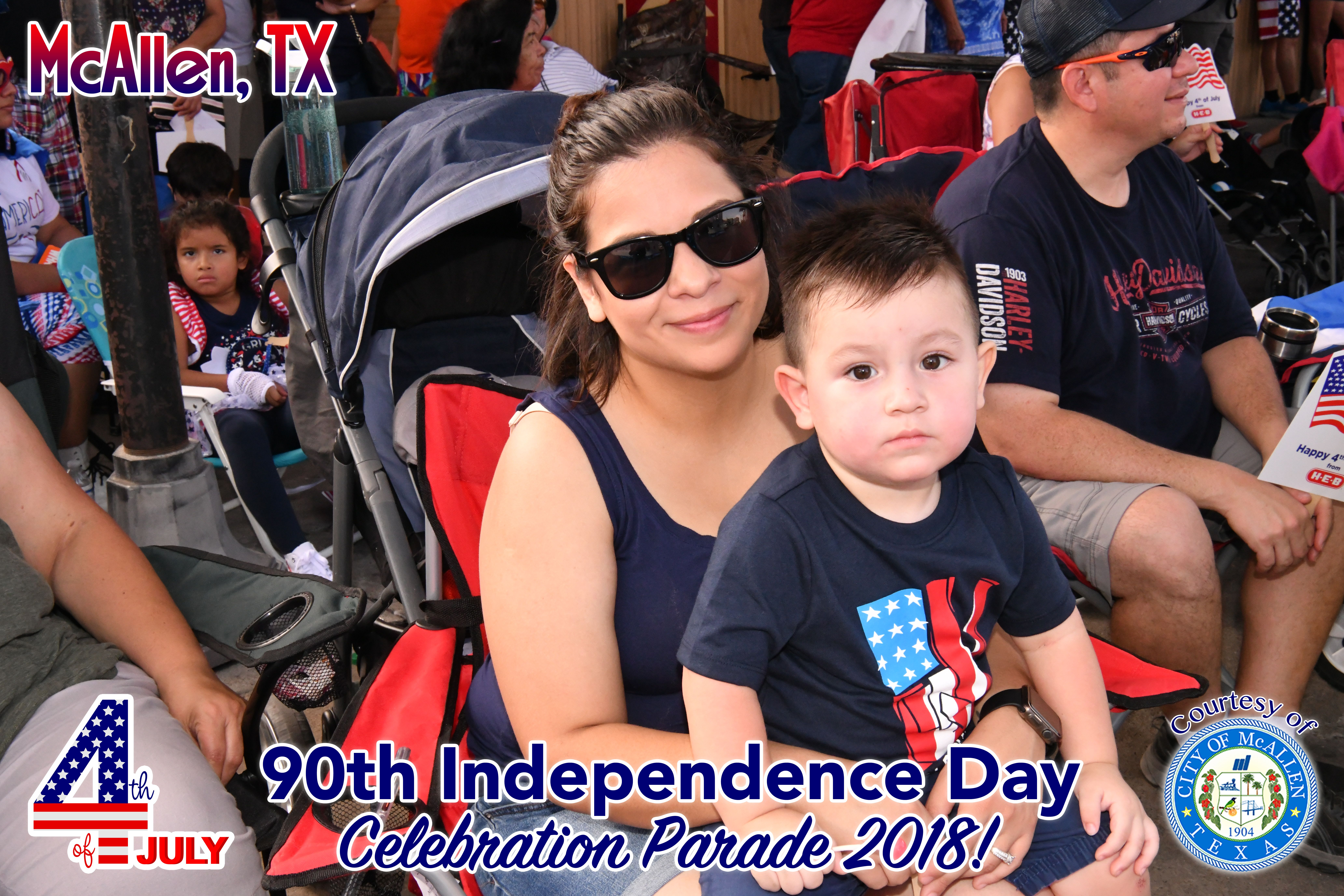 90th McAllen 4th of July Celebration Parade 2018 – Children with company