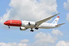 G-CKWE Norwegian Boeing 787-900 EGKK