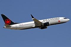 Air Canada Boeing 737Max-8 C-FSEQ LHR 30-06-18