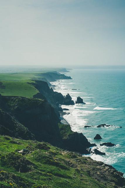 Cornwall cliffs, Fujifilm X-E1, XF35mmF1.4 R