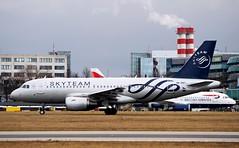 Airbus A319-112 OK-PET — ?SA Czech Airlines Sky Team Livery