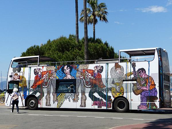 le palm bus