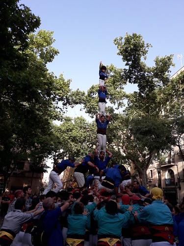 2018 Diada d'Estiu dels Castellers de Sants