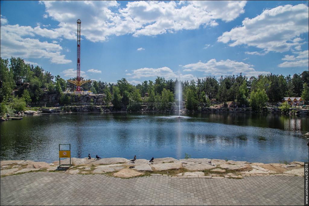 Московский гранитный карьер на Зоологической (Радуга-Парк)
