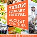 #Repost @yukonculinary ~ can't wait to head back up north for this incredible celebration of northern food and culture!! #JobLove ・・・ Join us for the 2018 #YukonCulinary Festival featuring the Yukon's culture, local food, and culinary experts. Shaped by Y