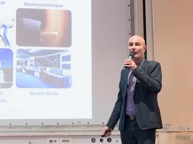 Arnaud RIGACCI Directeur du centre PERSEE