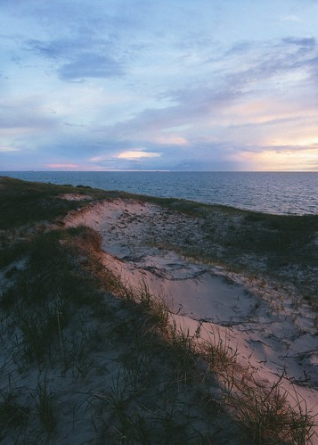 Ludington State Park and its rolling dunes. Photographer Nic Sagodic