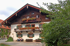 Ruhpolding - Ortsmitte (19) - Rathaus