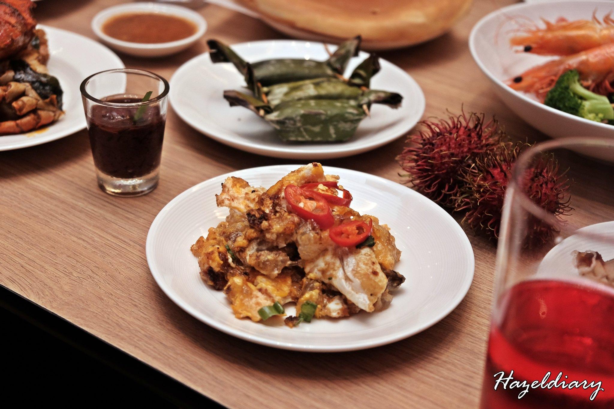 Penang Food Fare Buffet-Sky22 Courtyard Marriott-Oyster Omelette