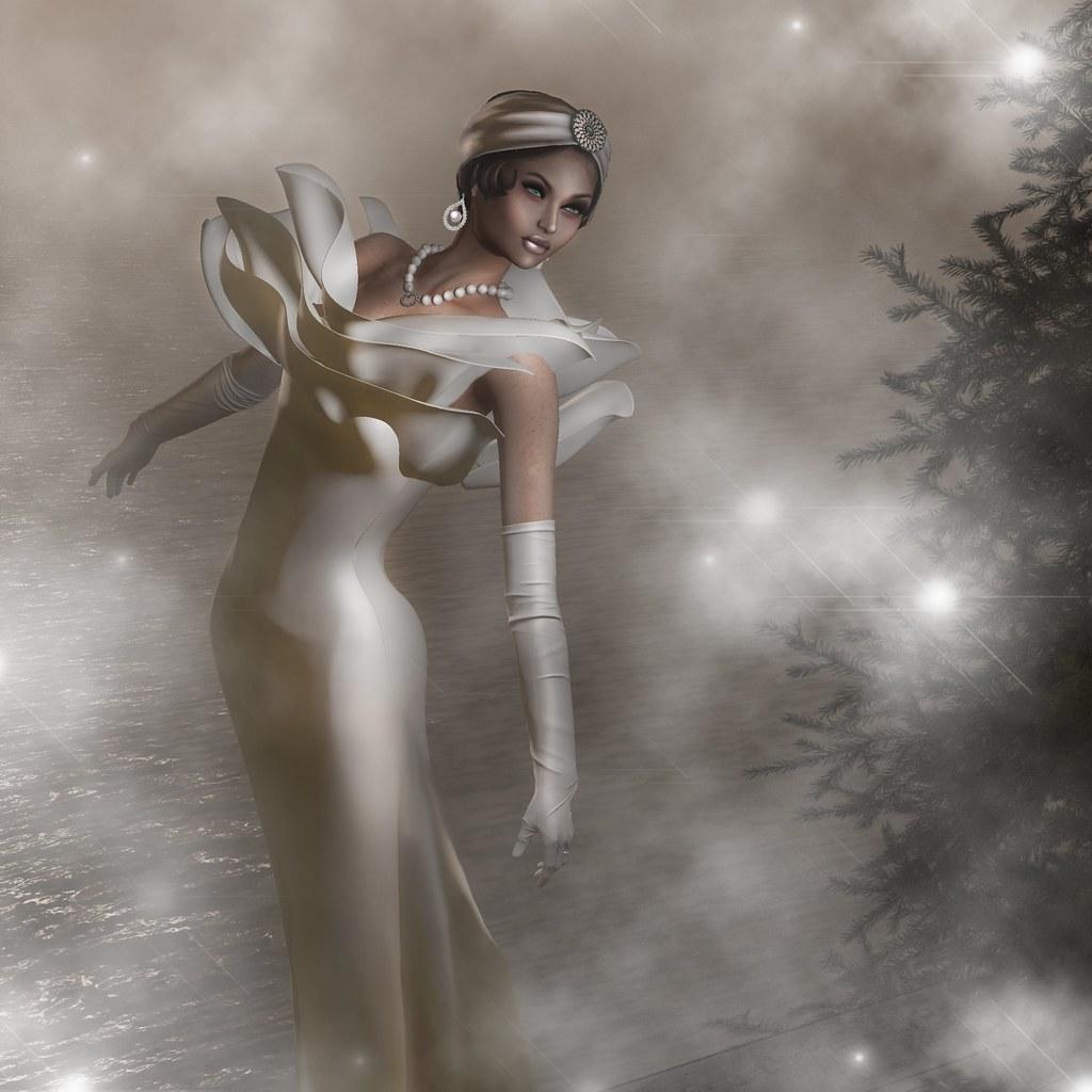 A White Rose Diva