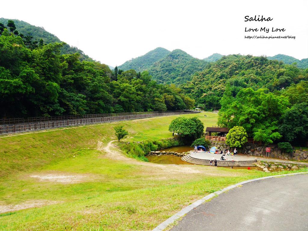 台北內湖一日遊踏青郊遊野餐景點推薦大溝溪親水公園  (1)