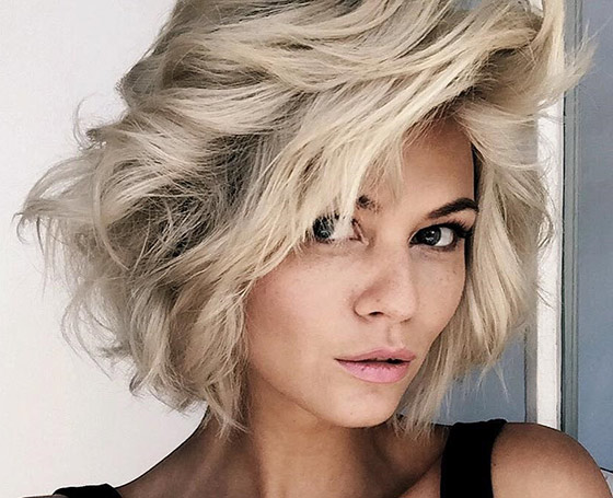 50 Most Thrilling Layered Hairstyles For Women -between cute and sexy 4