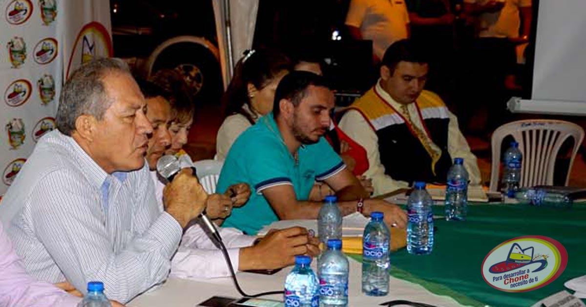 Exitosa reunión entre Alcalde y dirigentes barriales