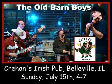 The Old Barn Boys 7-15-18
