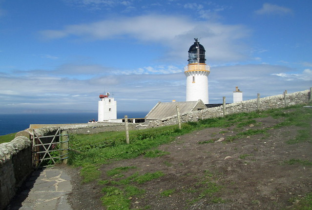 Lighthouse and Foghorn, Dunnet Head