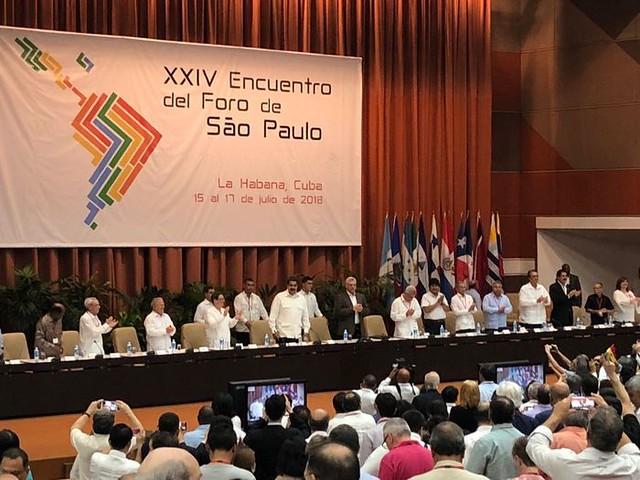 XXIV Foro de Sao Paulo