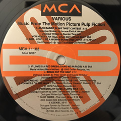 V.A.:PULP FICTION(LABEL SIDE-B)