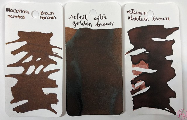 Blackstone Brown Boronia Ink Review @AppelboomLaren 1