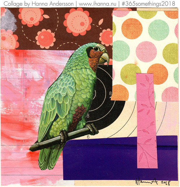 Parrot not in Cage - Collage no 137 by iHanna