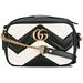 Collection Gucci Chaussures & Sacs : Gucci GG Marmont sac matelassé – Noir by modehot.com