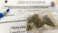 Policía local San Martín de Valdeiglesias