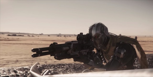 Star Citizen - Sniper Rifle