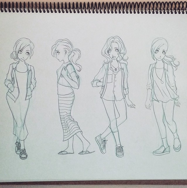 Outfit Sketch 2