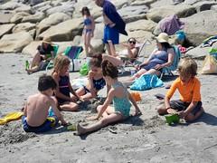 At Higgins Beach