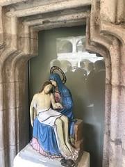 Pieta im Kreuzgang der Abtei Seckau