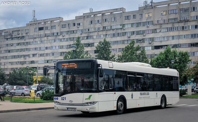 Solaris Urbino 12 #021, Gara Craiova - 18.06.2018