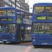 Stagecoach Manchester 15033 (H133 GVM), 15316 (H466 GVM)