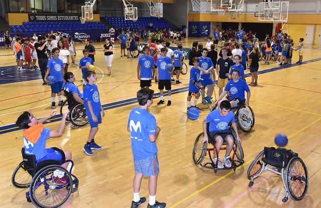 Jornada inclusiva Campus Movistar Estudiantes 2018 - EstuCamp + Estrellas del Deporte. Junio 2018