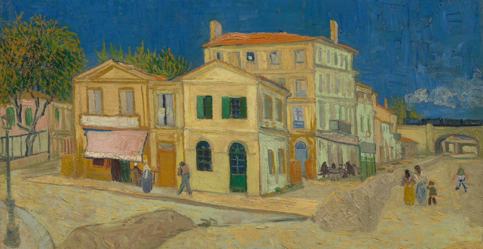 The Yellow House (The Street), 1888,  Vincent van Gogh
