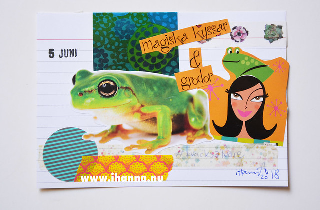 Index Card Collage 5 June 2018 by iHanna aka Hanna Andersson #ihannasICAD #dyICAD2018