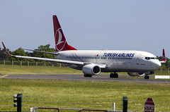 TC-JVH | Turkish Airlines | Boeing B737-8F2(WL) | CN 60012 | Built 201