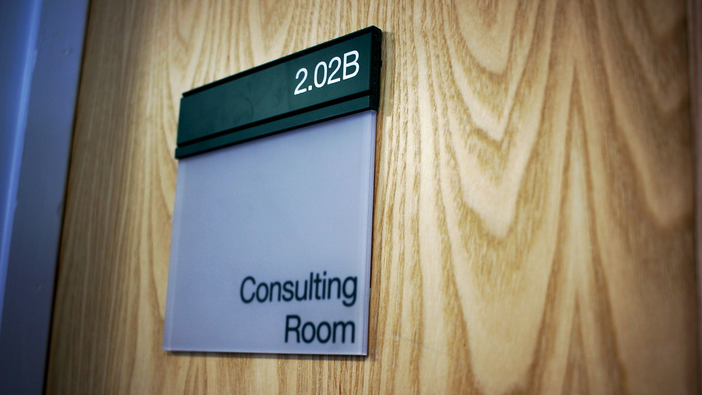 Consulting room sign