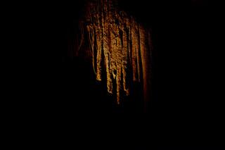 Stalactites in Jewel Cave