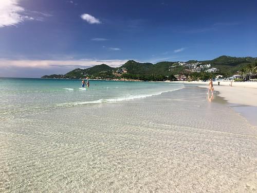 サムイ島 チャウエンビーチがすこぶる綺麗でした