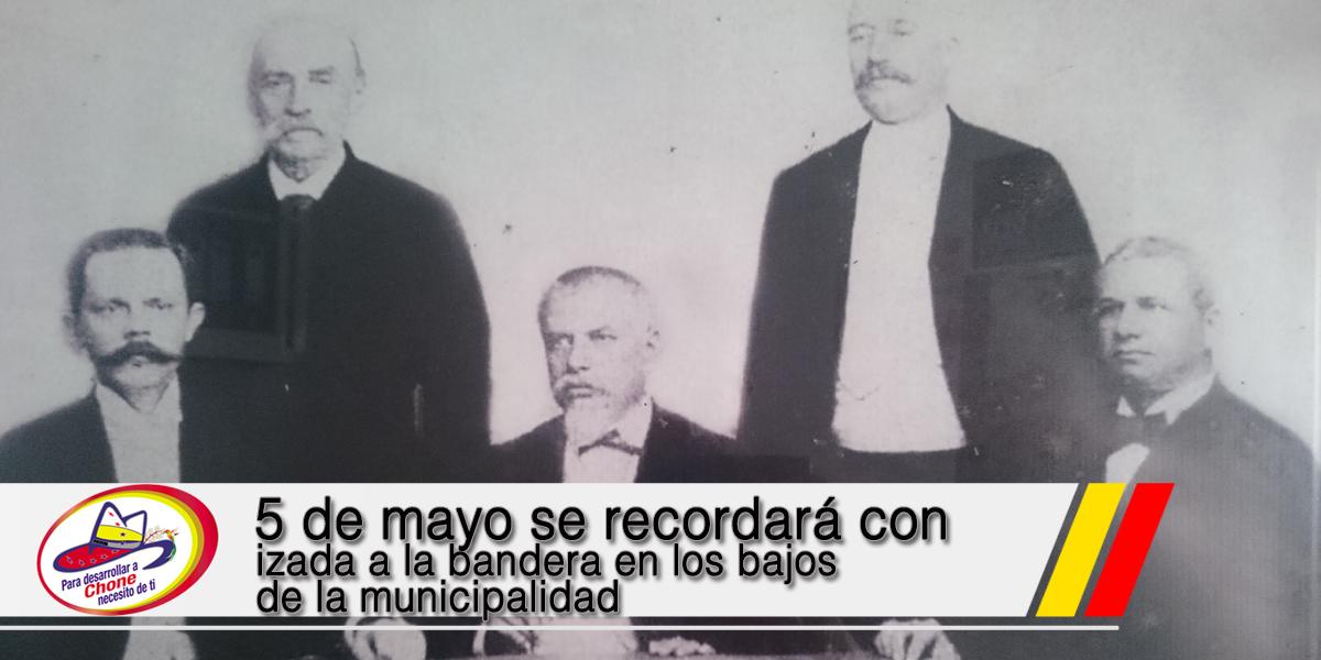 5 de mayo se recordará con izada a la bandera en los bajos de la municipalidad