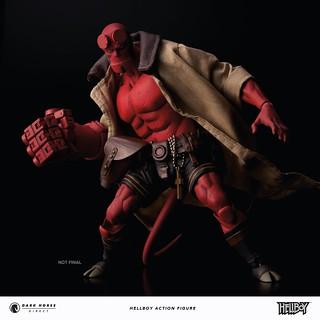 「販售資訊更新」史上最偉大的B.P.R.D. 調查員!! Dark Horse【地獄怪客】Hellboy 1/12 比例人偶作品