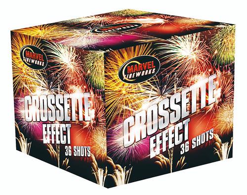 CROSSETTE EFFECT 36 SHOT CE BARRAGE #EpicFireworks