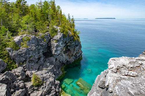 nationalpark shoreline thegrotto ontario landscape georgianbay brucepeninsulanationalpark nikond850