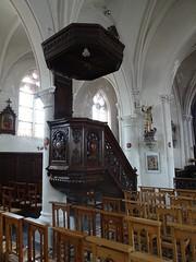 Nielles-lès-Bléquin Eglise Saint Martin, chaire de prêche