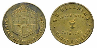 WILLIAMS, R. W. -store card Breton 614