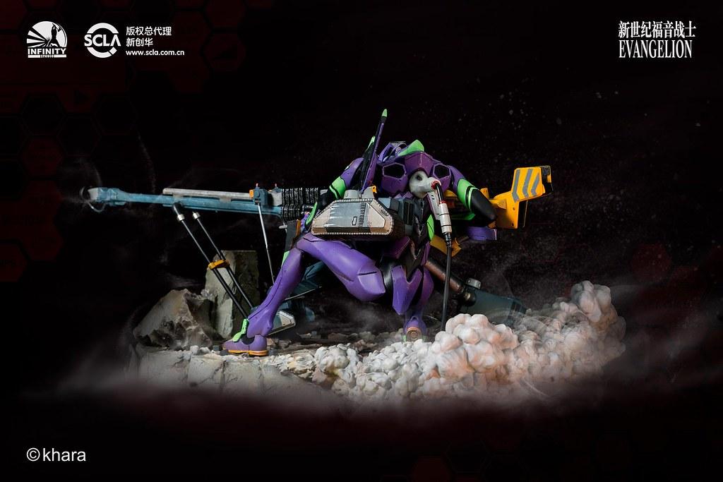 超人氣作戰場面立體化!!  Infinity Studio《新世紀福音戰士》屋島作戰 ヤシマ作戦 場景雕像作品 公開