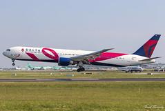 Delta Airlines (BCRF Livery) 767-400(ER) N845MH