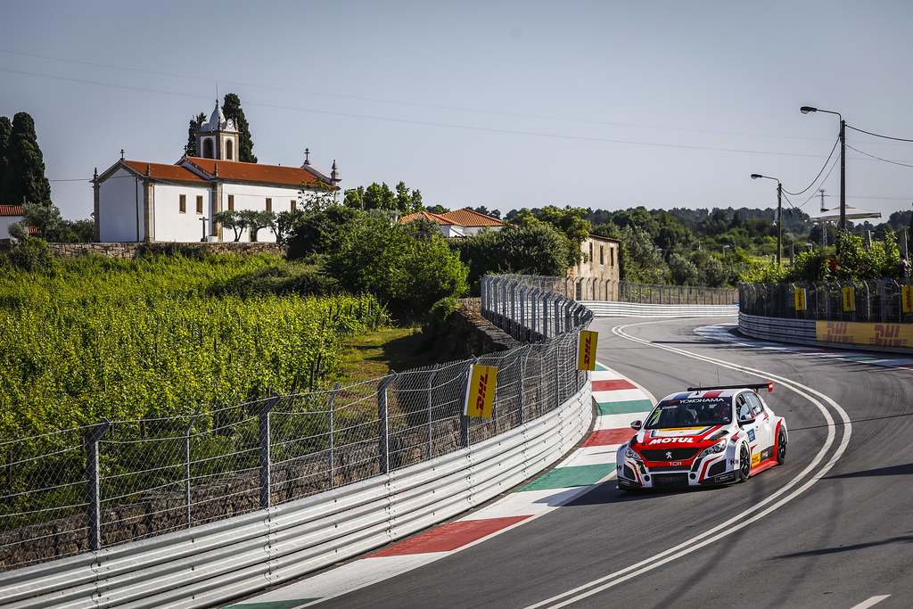 07 COMTE Aurelien, (fra), Peugeot 308 TCR team DG Sport Competition, action during the 2018 FIA WTCR World Touring Car cup of Portugal, Vila Real from june 22 to 24 - Photo Francois Flamand / DPPI